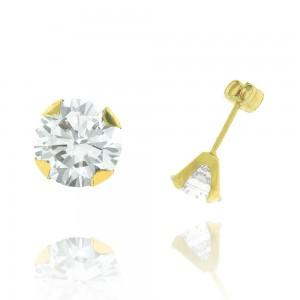 Boucle d'oreille or jaune 375/1000 - 9 carats