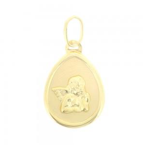 Pendentif or jaune 375/1000 - 9 carats - Ange