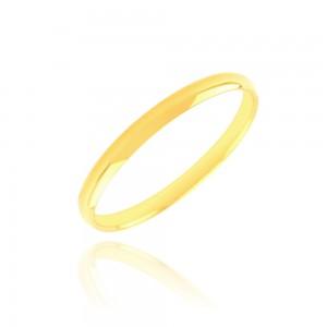 Alliance or jaune 375/1000 - 2mm