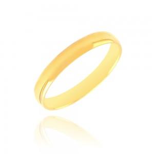 Alliance or jaune 375/1000 - 3mm