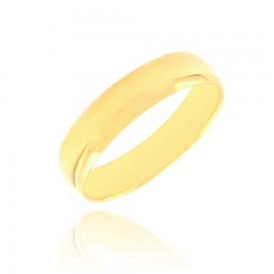 Alliance or jaune 375/1000 - 5mm