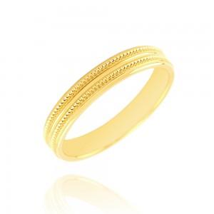 Alliance or  jaune 375/1000 - 3.5mm