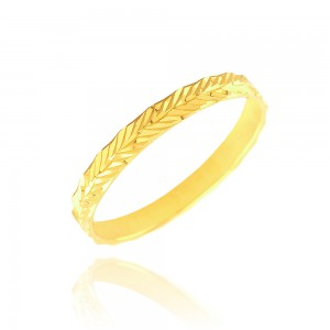 Alliance or jaune 375/1000 (9ct) - 2.5mm