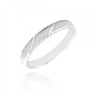 Alliance or blanc 375/1000 - 3mm