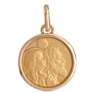 Médaille or, Médaille St Christophe
