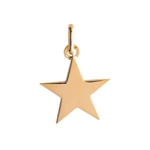 Pendentif or, étoile