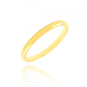 Alliance or jaune 375/1000 (9ct) - 2mm
