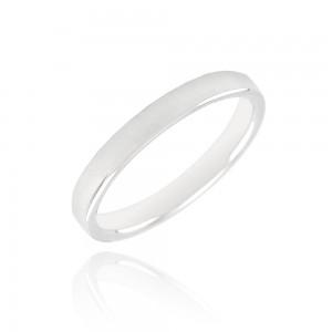 Alliance or blanc 375/1000  - 3mm