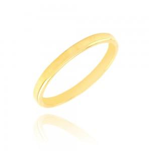 Alliance or jaune 375/1000 - 2.5mm