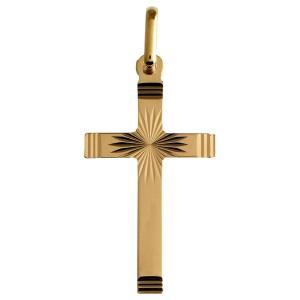 Croix or, Croix ciselée