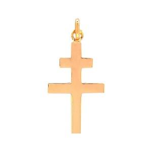 Croix or, croix de Lorraine