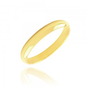 Alliance or jaune 375/1000 (9ct) - 3mm