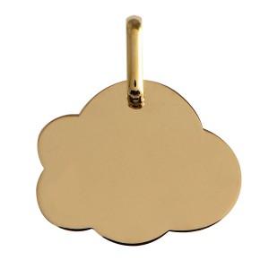 Médaille or, médaille nuage