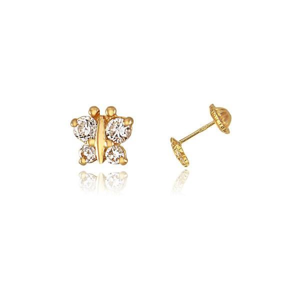 Boucle d 39 oreille or boucle d 39 oreille papillon vente en - Presentoir boucle d oreille ...