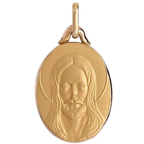 Médaille or 375 1000 - Christ - Bijouterie Briant 99d16a31b4e8